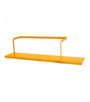 étagère métal jaune miel design