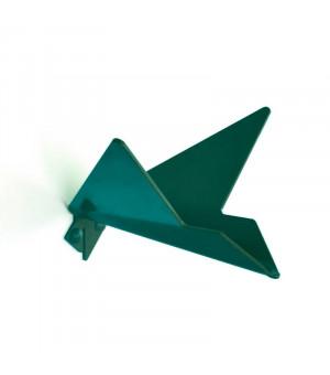 patère métal vert sapin