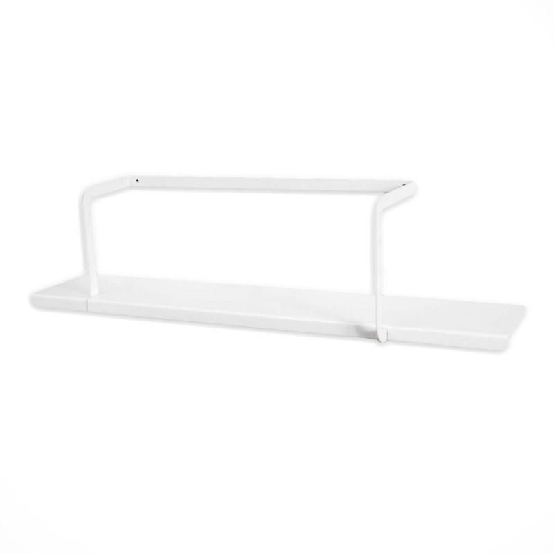 étagère métal blanc design