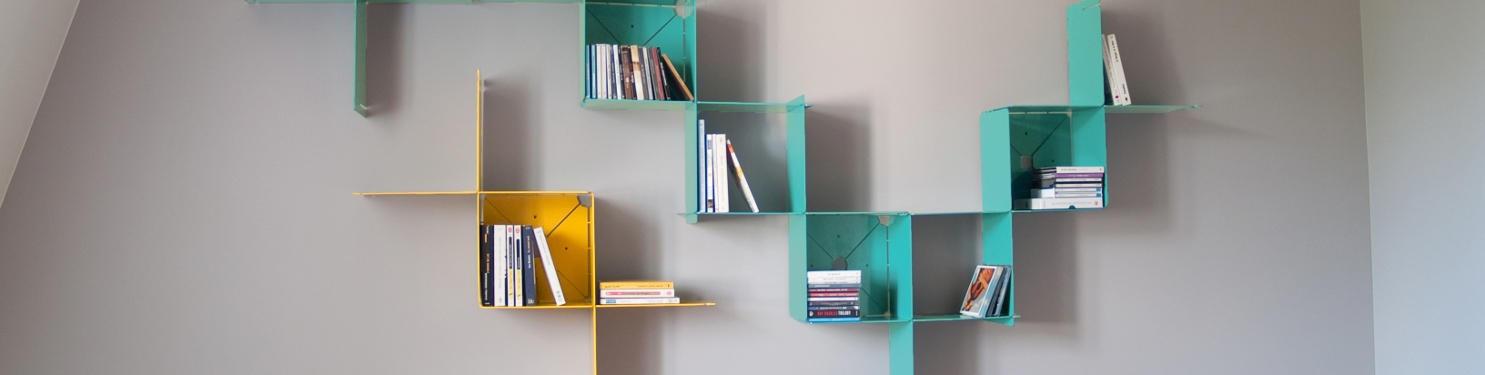 Collection Pli - Mobiliers en métal design